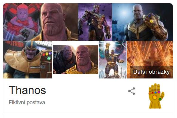 Thanos na Google